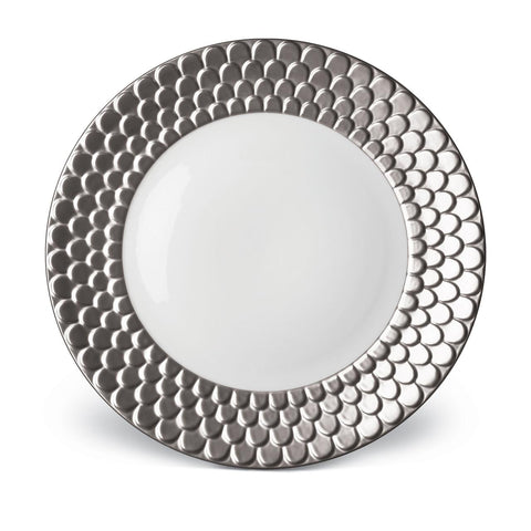 Aegean Platinum Charger Plate