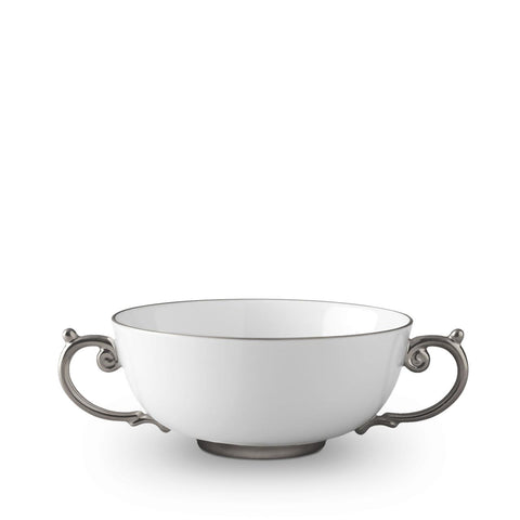 Aegean Platinum Soup Bowl