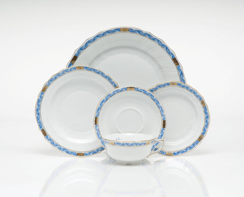 Chinese Bouquet Garland Blue Dinnerware