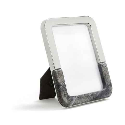 Carnico Marble & Silver Dual Frame