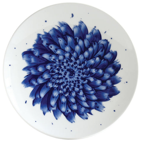 In Bloom Coupe Salad Plate