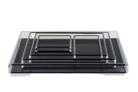 Fearless Acrylic Tray Black