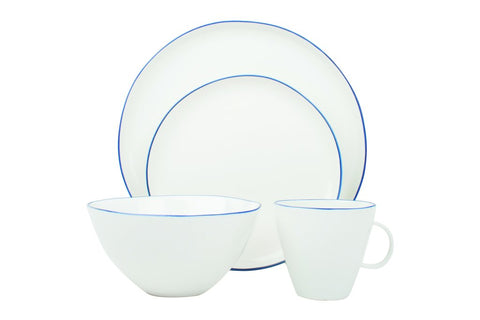 Abbesses 4-Piece Place Setting Blue