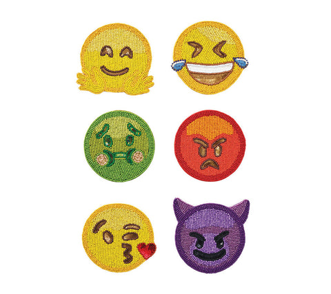 Emoji 2.0 Coasters, Set of 6