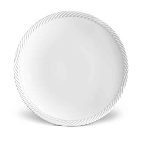 Corde White Charger Plate