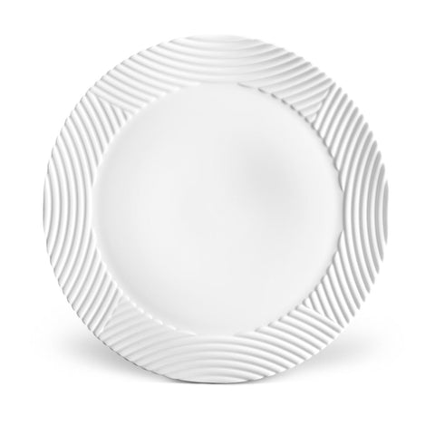 Corde White Wide Rim Charger Plate