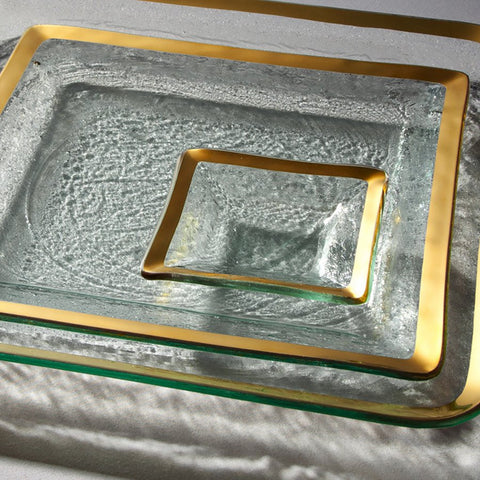 Roman Antique Small Square Dish