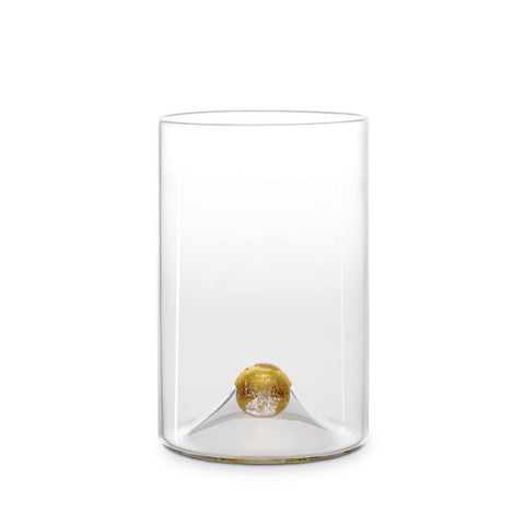 Oro Water Glass