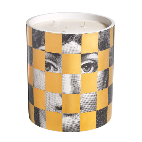 Scacco Gold Large Candle