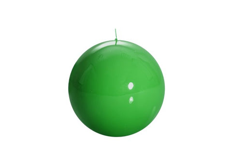 Green Ball Candle Medium