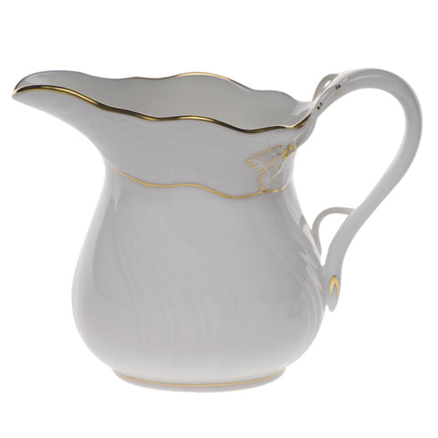 Golden Edge Creamer