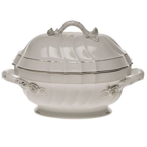 Platinum Edge Tureen w/ Branch