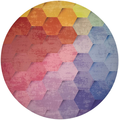 Hex Placemat, Set of 4