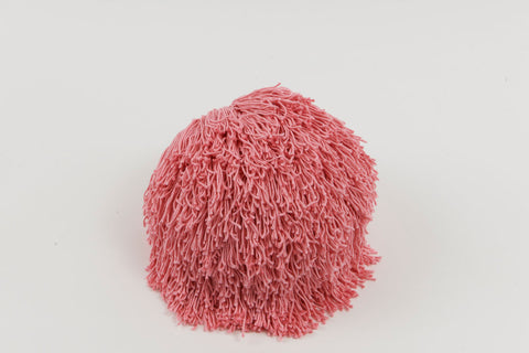 Joni Fringe Pillow Pink