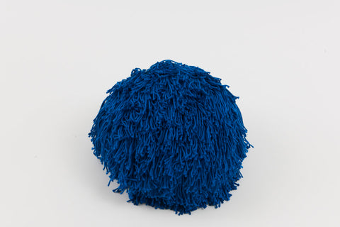 Joni Fringe Pillow French Blue