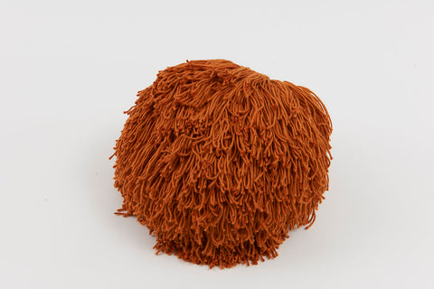 Joni Fringe Pillow Burnt Orange