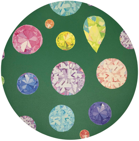Jewel Green Placemat, Set of 4