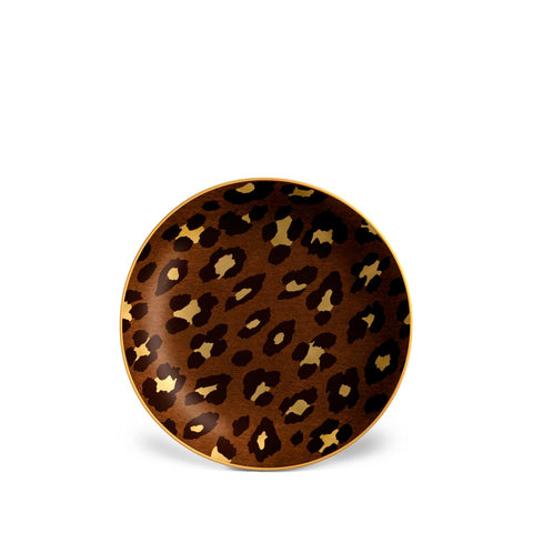 Leopard Canape Plates (Set of 4)