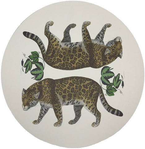 Leopard Seeing Double Placemat, Set of 4