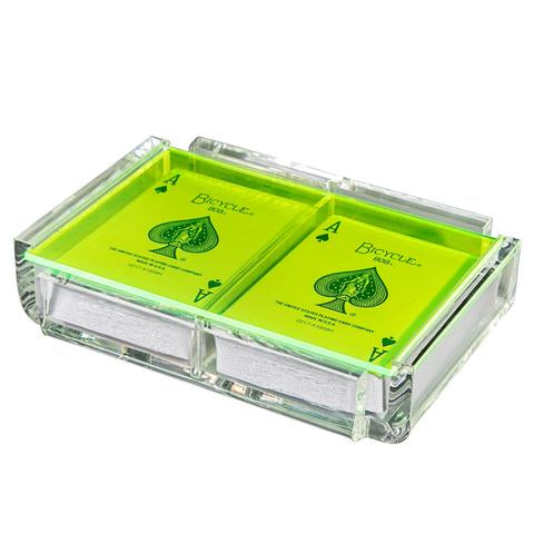 Luxe Card Deck Neon green