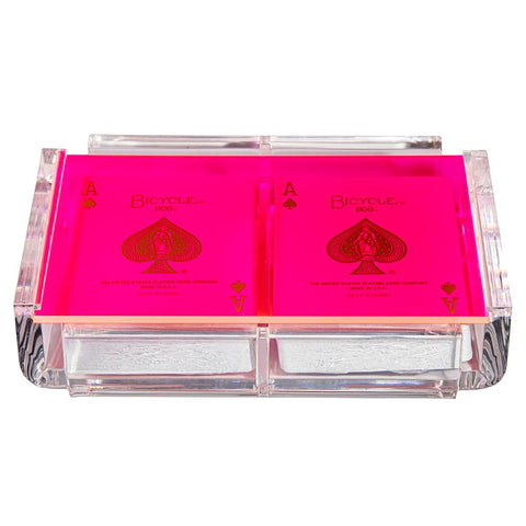 Luxe Card Deck Neon Pink