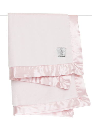 Luxe Baby Blanket Pink