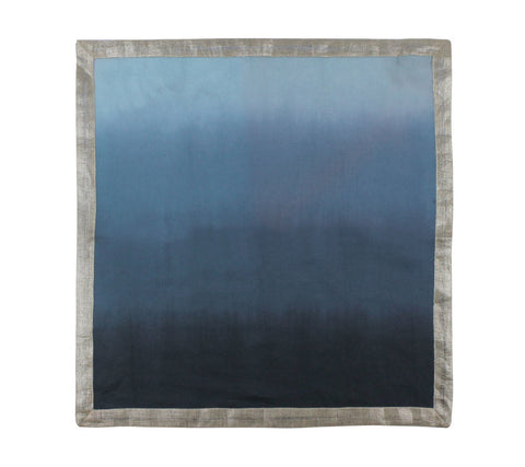 Dip Dye Napkin in Navy & Blue, Set of 4