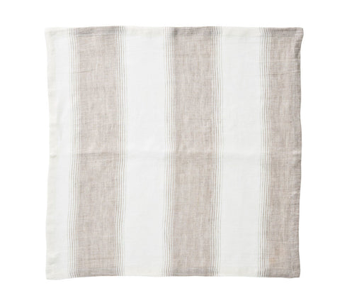 Baltic Napkin Ivory & Beige, Set of 4