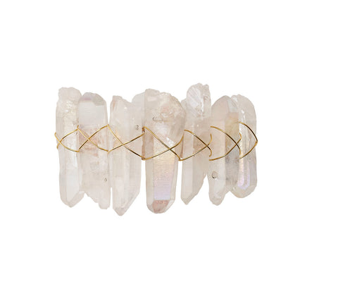 Radiant Napkin Ring in Iridescent,Set of 4