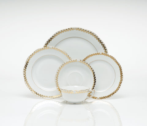 Golden Laurel Dinnerware