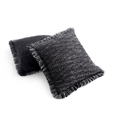 Seville Bouclé Pillow Black
