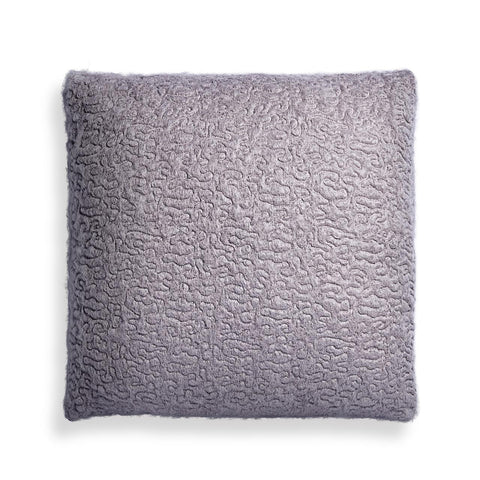 Haas Vermiculation Pillow Grey