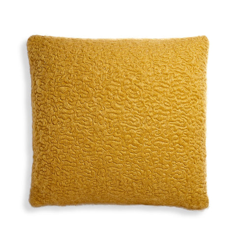 Haas Vermiculation Pillow Saffron