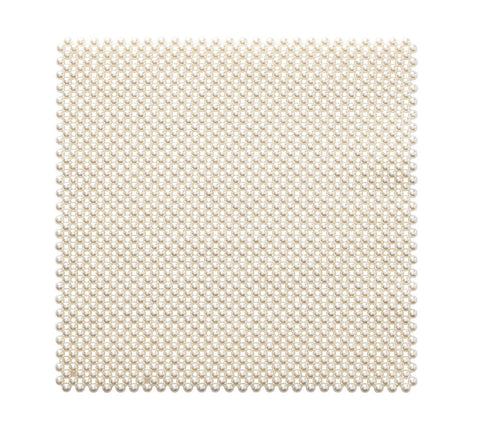 Pearl Placemat in Ivory, Set of 4
