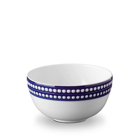 Perlée Blue Cereal Bowl