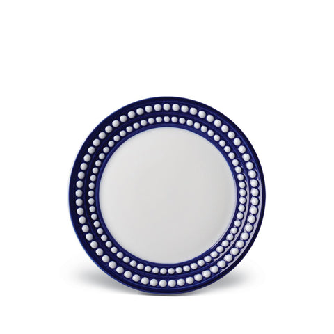 Perlée Blue Bread & Butter Plate