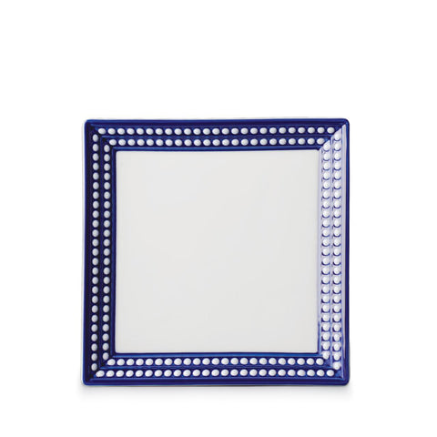 Perlée Blue Square Tray