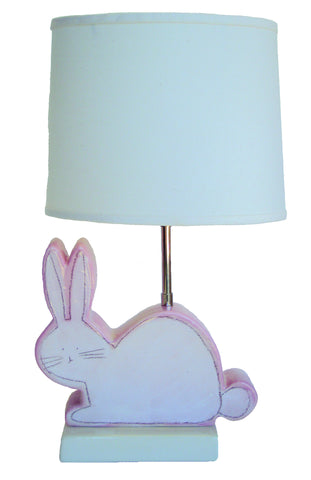 Bunny Character Figure Lamp Pink
