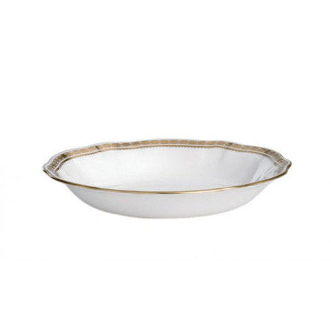Carlton Gold Oatmeal/ Cereal Bowl