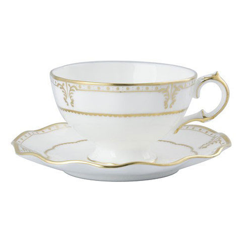 Elizabeth Gold Tea Saucer