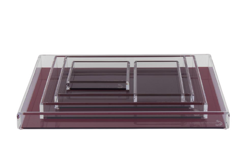 Fearless Acrylic Tray Ruby