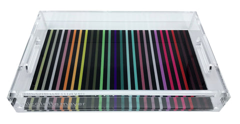 Spectrum of Reality Acrylic Vanity Tray