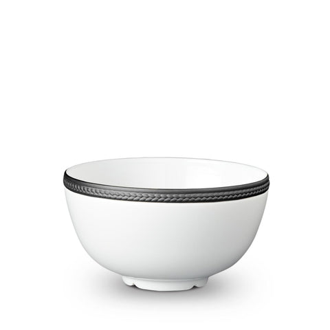 Soie Tressée Black Cereal Bowl