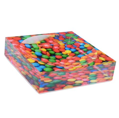 Rainbow Pop Candy Dish