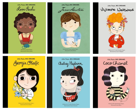 Little Girl Book Set: Little People, Big Dreams
