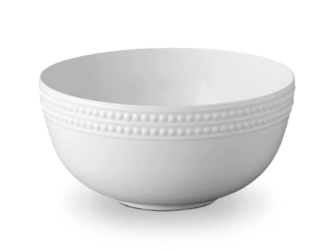 Perlée White Serving Bowl