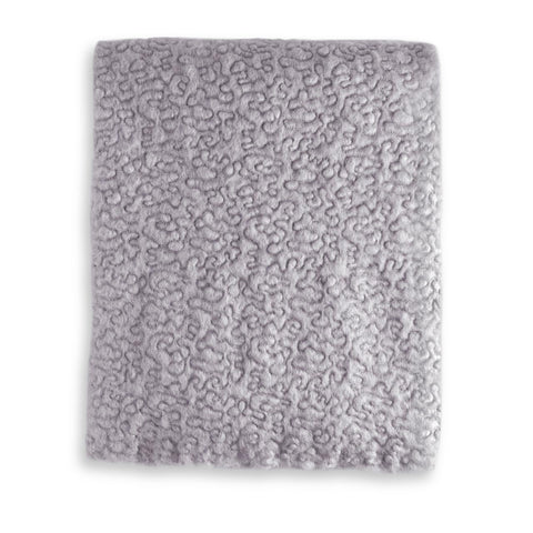 Haas Vermiculation Throw Grey