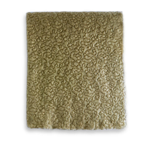 Haas Vermiculation Throw Sage