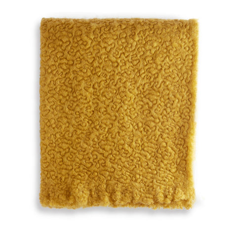 Haas Vermiculation Throw Saffron