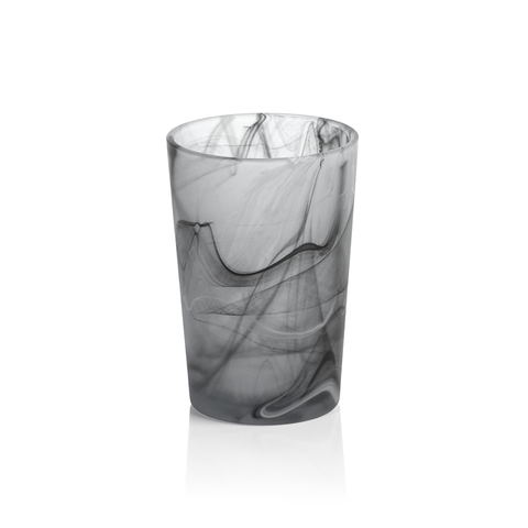 Black Swirl Highball, Set of 12